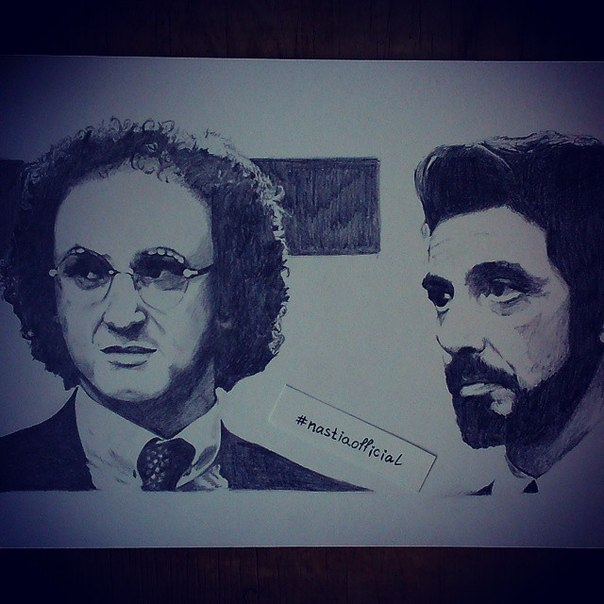 Al Pacino, Sean Penn por nastiaofficial